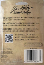 Idea-ology by Tim Holtz - The Mini Lantern