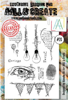 AALL & Create - A6 Clear Stamp Set Designed by Bipasha Bk - #23
