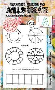 AALL & Create - A6 Clear Stamp Set Designed by Janet Klein - Colour Theory#339