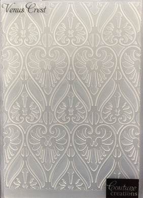Couture Creations Embossing Folder - Art Nouveau Collection: Venus Crest