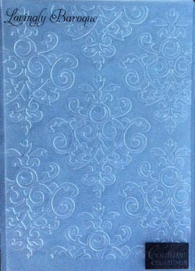 Couture Creations Embossing Folder - Gift Wrapping Collection: Lovingly Baroque