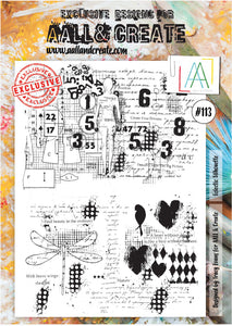 AALL & Create - A4 Clear Stamp Set Designed by Tracy Evans - Eclectic Silhouette #113