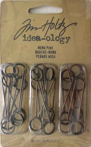Idea-ology by Tim Holtz - Memo Pins