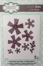 Creative Expressions Craft Dies by Sue Wilson Finishing Touches - Cornflour 8Dies