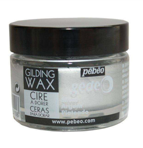 Pebeo Gilding Wax Silver 30ml