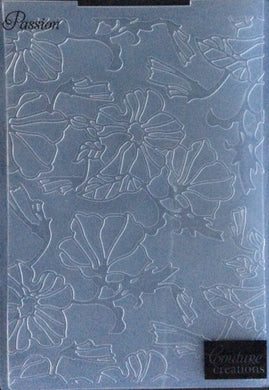 Couture Creations Embossing Folder - Fine Designs Collection: Passion