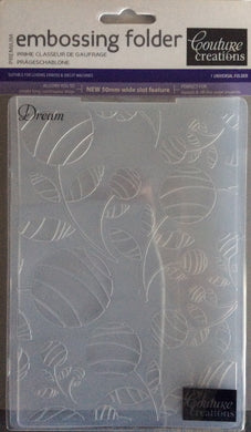 Couture Creations Embossing Folder - Fresh & Fun Collection: Dream