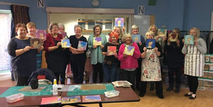 Craft Workshop No: 3 with Leonie at Chichester on Saturday 21st March