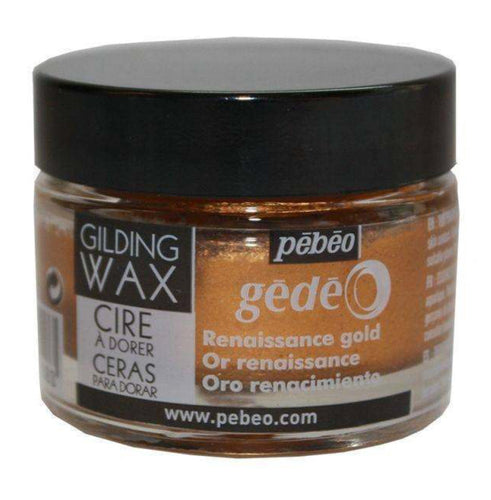 Pebeo Gilding Wax Renaissance Gold 30ml