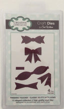 Creative Expressions Craft Dies by Sue Wilson Finishing Touches - Classic 3D Itty Bitty Bows - Set of 4 Dies
