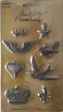 Idea-ology by Tim Holtz - Adornment 8 Charms