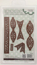 Creative Expressions Craft Dies by Sue Wilson Finishing Touches - Filigree 3D Bow - Set of 6 Dies