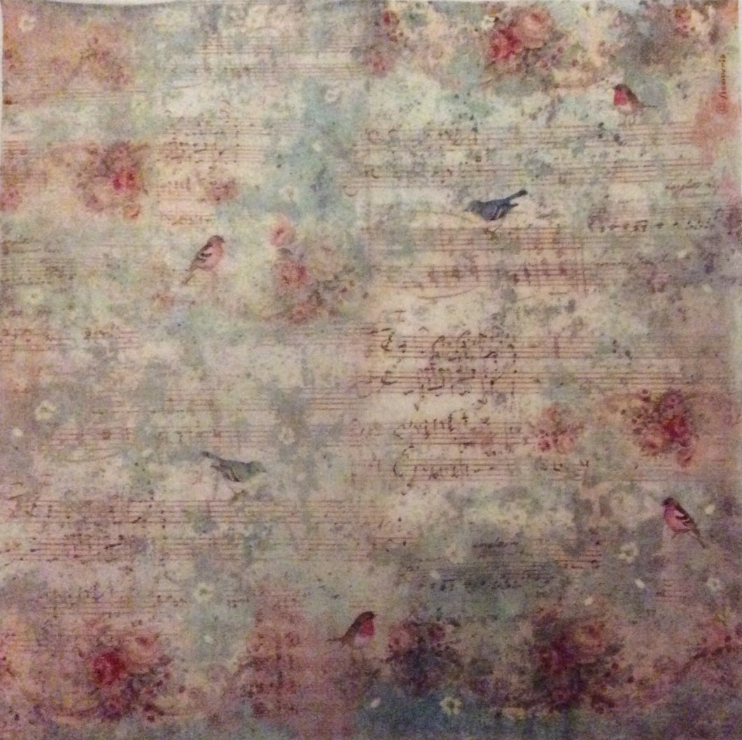 Stamperia Decoupage Rice Paper 50 x 50cm