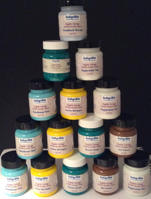 Indigo Blu English Cottage Artist's Acrylic Paint 60ml