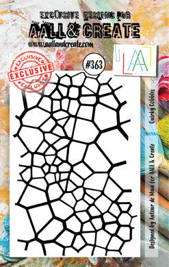 AALL & Create - A7 Clear Stamp Set Designed by Autour de Mwa - Quirky Cobbles #363