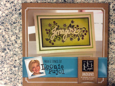 Crafters Companion Mask & Stencil Set by Leonie Pujol - Imagine