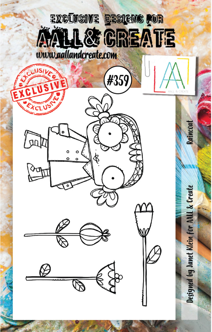 AALL & Create - A7 Clear Stamp Set Designed by Janet Klein - #359