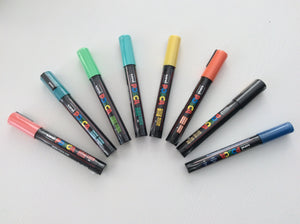 Uni-ball PC-5M POSCA Marker Medium Bullet Tip