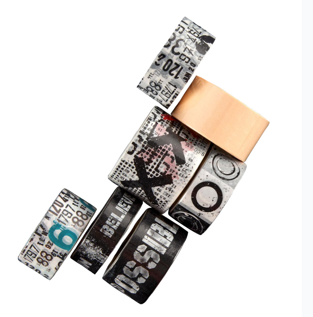AALL & Create Washi Tapes Pack 1 - 7 Rolls