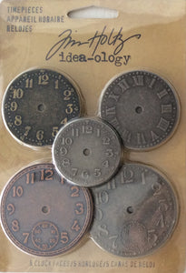 Idea-ology by Tim Holtz - Timepieces