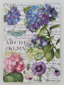 Stamperia Decoupage Rice Paper A4 Hydrangea Flowers