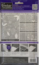 Couture Creations Embossing Folder - Fine Designs Collection: Turkish Delight