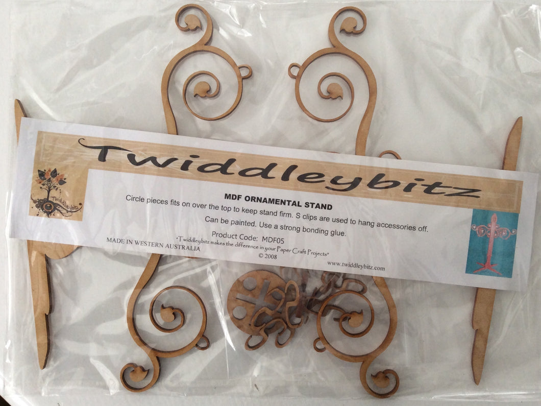 Twiddleybitz MDF Ornamental Stand