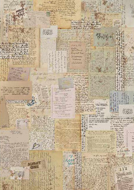 Stamperia - Background Notes - Decoupage Rice Paper A4 DFSA4376