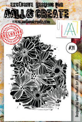 AALL & Create - A6 Clear Stamp Set Designed by Carol AndCo - #21