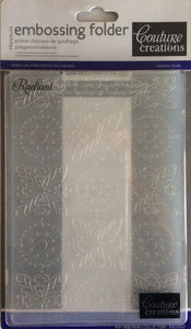 Couture Creations Embossing Folder - Art Nouveau Collection: Radiant
