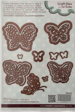 Creative Expressions Craft Dies by Sue Wilson Finishing Touches Magical Butterflies 14 Dies