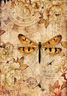 Stamperia - Mix Media Dragonfly Decoupage Rice Paper A4 DFSA4239