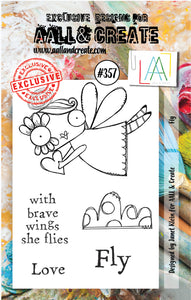 AALL & Create - A7 Clear Stamp Set Designed by Janet Klein - #357
