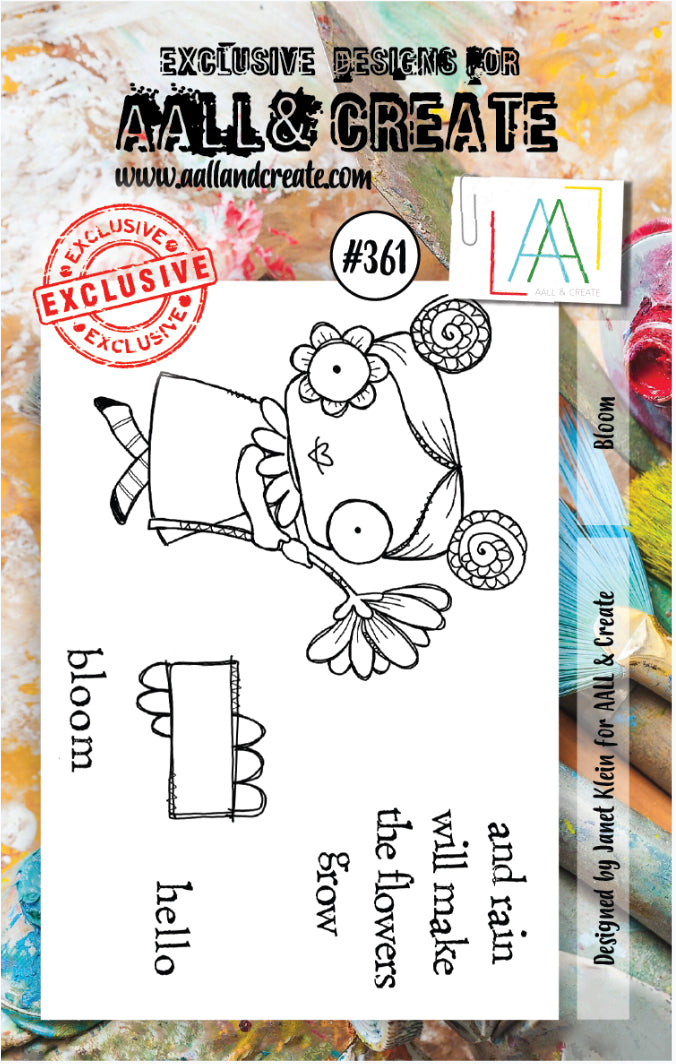 AALL & Create - A7 Clear Stamp Set Designed by Janet Klein - #361
