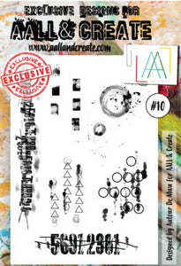 AALL & Create - A6 Clear Stamp Set Designed by Autour De Mwa - #10