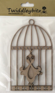Twiddleybitz Totally Tweet Oval Cage - Bird