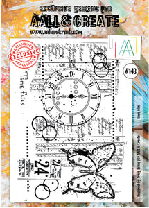 AALL & Create - A4 Clear Stamp Set Designed by Tracy Evans - Time Flies #143