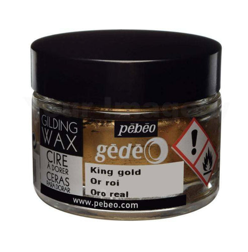 Pebeo Gilding Wax King Gold 30ml