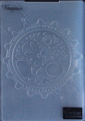 Couture Creations Embossing Folder - World Fair Collection: Timepiece