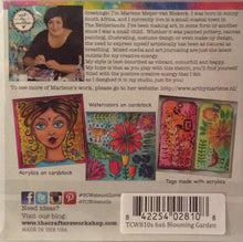 "TCW Arts by Marlene Designs - Stencils - Blooming Garden 6""x 6"""