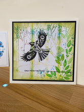 Art Inspirations by Wensdi Made A5 Clear Stamps - Elegant Bird - 18 Stamps