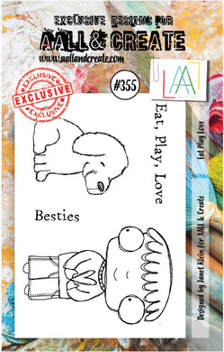AALL & Create - A7 Clear Stamp Set Designed by Janet Klein - #355