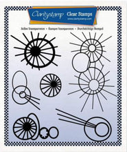 Clarity Stamps Leonie's Altered Bursts Unmounted Clear Stamp Set Designed by Leonie Pujol