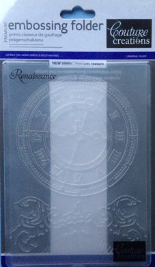 Couture Creations Embossing Folder - World Fair Collection: Renaissance