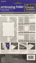 Couture Creations Embossing Folder - Romantique Collection: Timeless