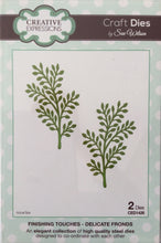 Creative Expressions Craft Dies by Sue Wilson Finishing Touches - Delicate Fronds 2 Dies