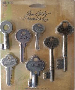 Idea-ology by Tim Holtz - 7 Word Keys