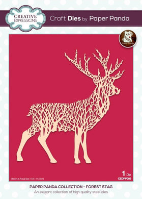 Creative Expressions Paper Panda Collection Forest Stag - 1 Die