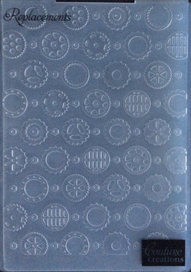 Couture Creations Embossing Folder - World Fair Collection: Replacements