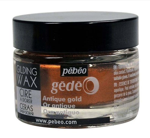 Pebeo Gilding Wax Antique Gold 30ml